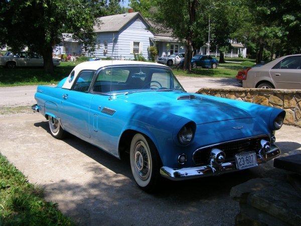 4C: 1956 Ford Thunderbird 2dr Convertible