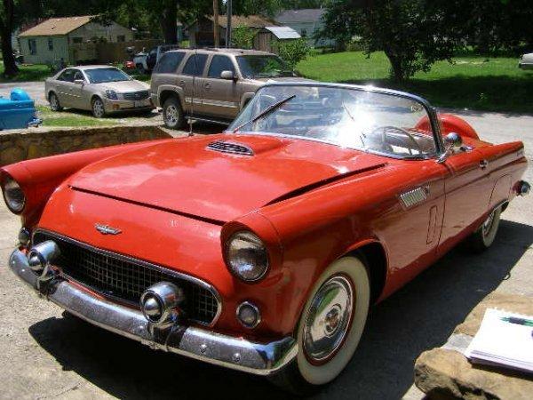 5C: 1956 Ford Thunderbird 2dr Convertible