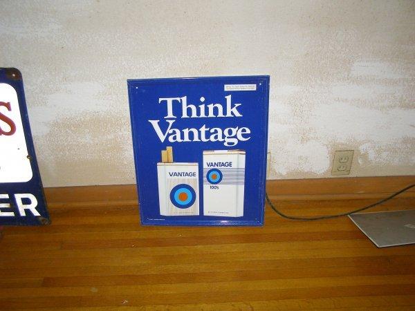 6S: Vintage Cigerette Sign