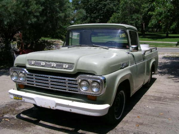 10C: 1959 Ford F100 Pickup