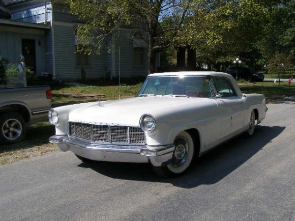 11C: 1956 Lincoln  Mark 2 Continental 2dr Hard Top