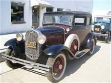25C: 1931 Ford Model A Victoria 2dr Sedan