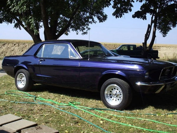 1G: 1968 Ford Mustang