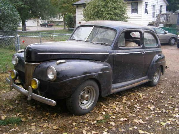 2G: 1941 Ford 2dr Sedan Old Hotrod