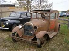4G: Model A Ford 2dr Sedan for Rod or Restore