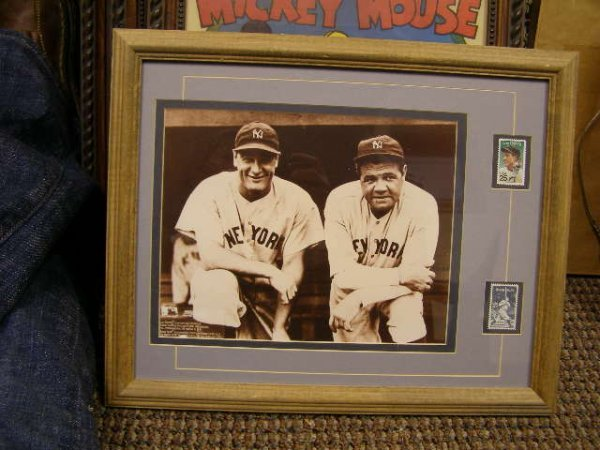 23X: Babe Ruth and Lou Gehrig Print