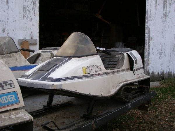 1R:1972  Raider 340TT Twin Track Snowmobile