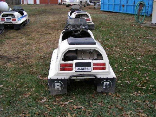 3R: 1974 Raider 44TT  Eagle Twin Track Snowmobile. - 4