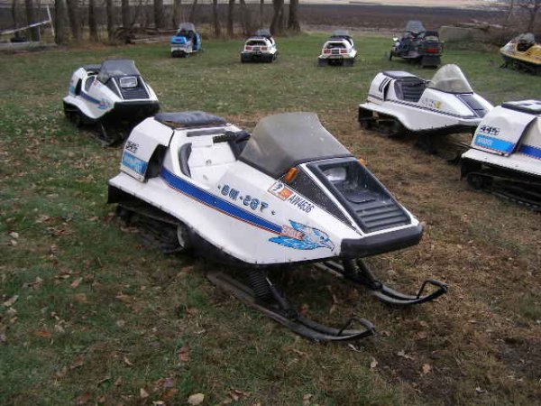 4R:1975  Raider 34TT Twin Track Snowmobile