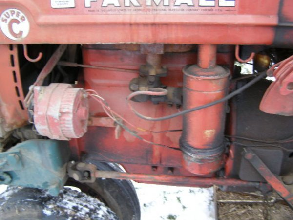 14R: Farmall Super C Tractor with Belly Mower - 5