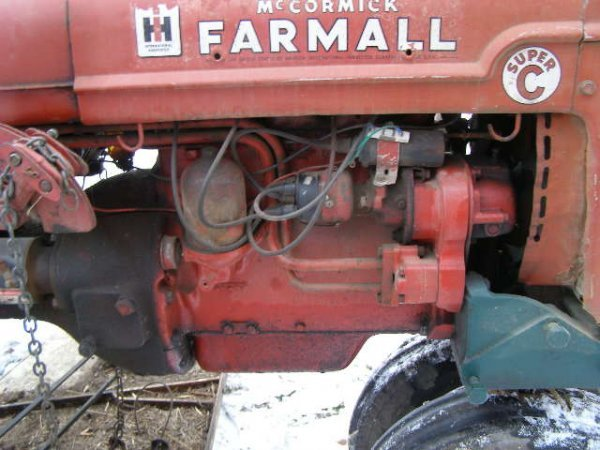 14R: Farmall Super C Tractor with Belly Mower - 6