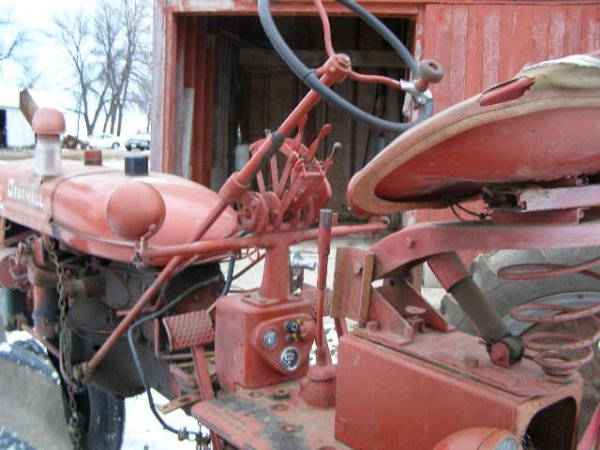 14R: Farmall Super C Tractor with Belly Mower - 7