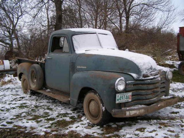 15R: 1952 Chevrolet Stepside Longbox Pickup