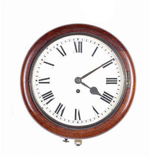 Antique School Clock Feb 10 2020