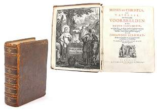 Early 18th century book in leather cover
