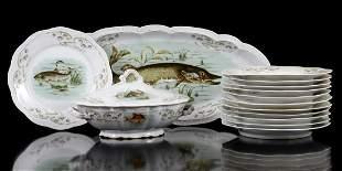 12 Orleans Z.S. & Co Bavaria porcelain plates