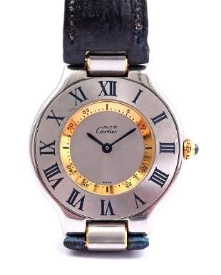Cartier Must, ladies' wristwatch
