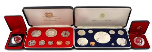 First coinage of Papua New Guinea proof set minted at