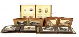 Beautiful photo album with photos, circa 1900