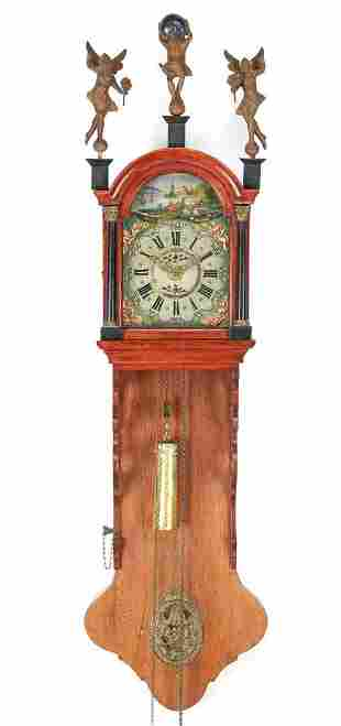 Frisian tail clock
