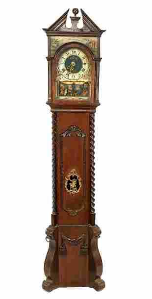 Standing watch in oak case