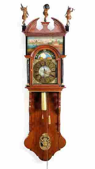 Frisian mayor's clock