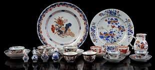 Lot Imari porcelain