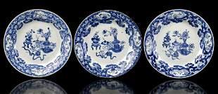 3 porcelain dishes