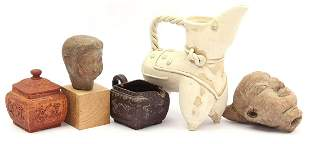 Lot Asian objects