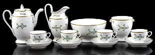 Haviland Limoges porcelain service