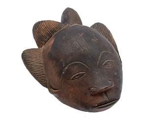 Ceramic mask from Nigeria