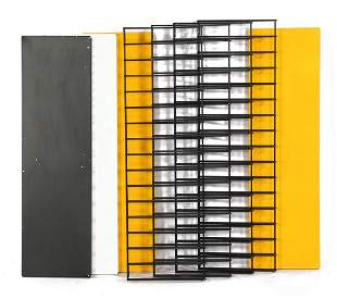 Metal Tomado wall rack