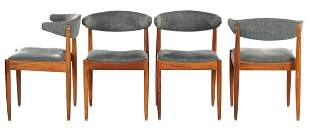 4 rosewood dining room chairs