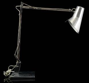 Antonio Citterio (1950-) Aluminum desk lamp