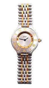 Must de Cartier watch