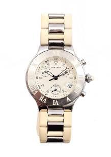 Cartier Chronoscaph 21 watch