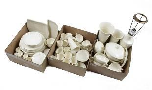 3 boxes of porcelain