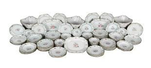 117-piece Chinese porcelain dinner set
