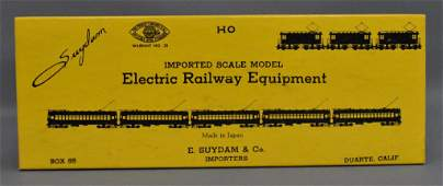 E. Suydam & Co. Japan HO Scale all brass Model #700T