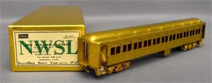 Northwest Short Line HO Scale Brass Erie Stillwell