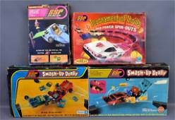 Group of four Kenner SSP sets and parts in original