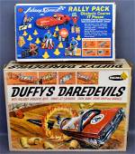REMCO Duffy's Daredevils set and Topper Johnny Speed