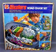 Mattel Sizzlers Road Chase Set in original box