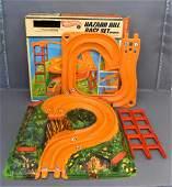 Mattel Hot Wheels Hazard Hill Race Set in original box