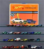 Group of twenty four Mattel Hot Wheels Redlines in a 24