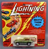 Topper Johnny Lightning Lime Jaguar XKE on original