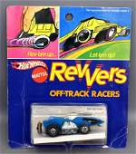 Mattel Hot Wheels Revvers Blue Stingin Thing on