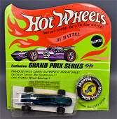 Mattel Hot Wheels Redline Aqua Indy Eagle on Original