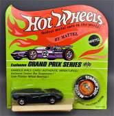 Mattel Hot Wheels Redline Enamel green Lola GT on