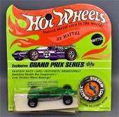 Mattel Hot Wheels Redline Green Shelby Turbine on